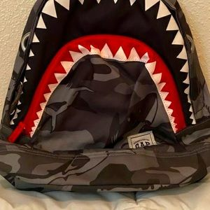 "GapKids Small Children's 16"" Shark Kids Backpack"